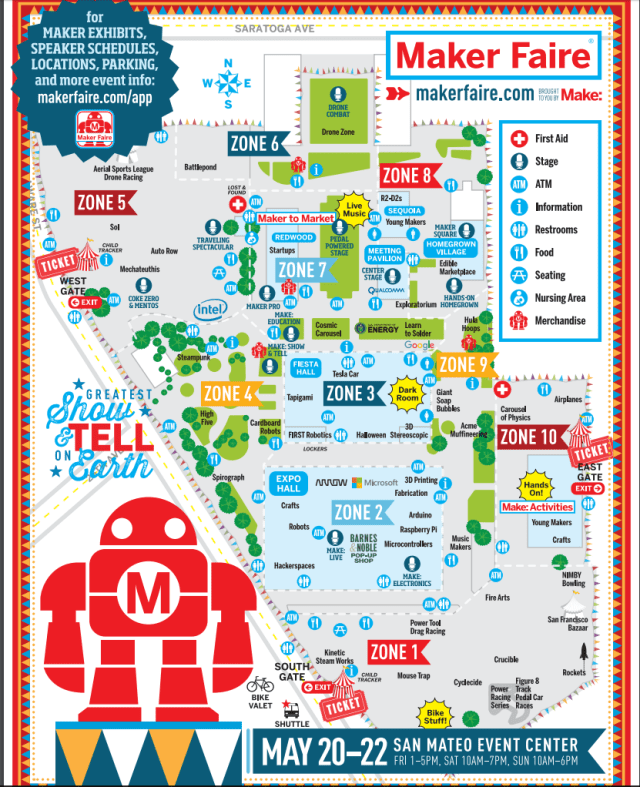 Find Steadcraft at Maker Faire 2016