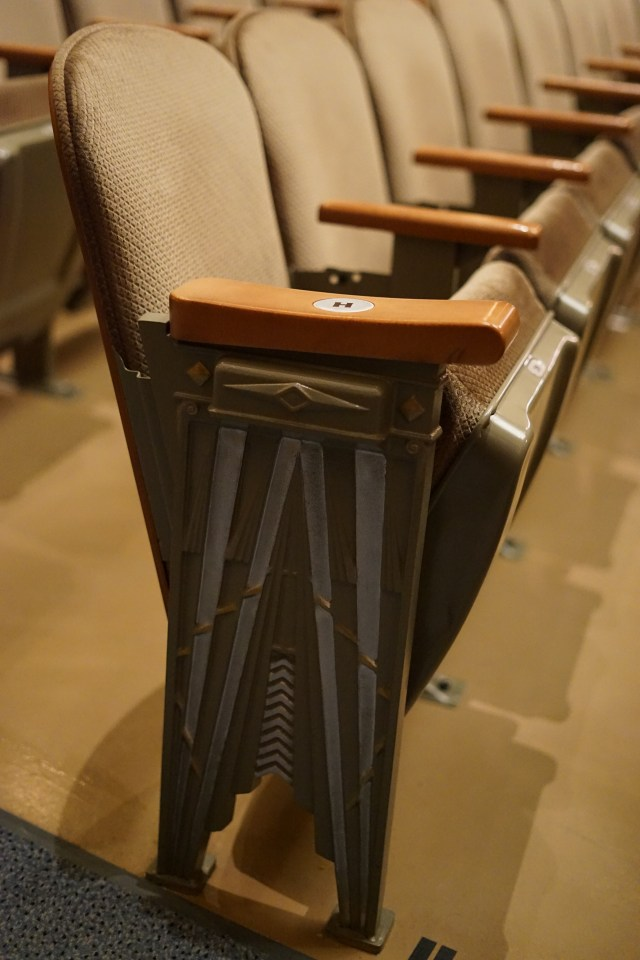 Capitol Theater: Seat End-Cap Inspiration