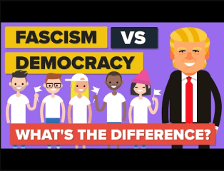 Difference between Fascism and Democracy