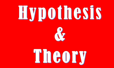 Difference between Hypothesis and Theory