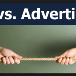 Difference between Advertising and Public Relations
