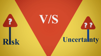 Difference between Risk and Uncertainty