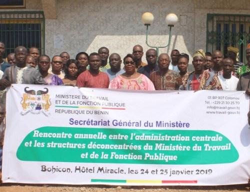 Bohicon : rencontre annuelle entre la Ministre Mathys et les cadres des structures déconcentrées