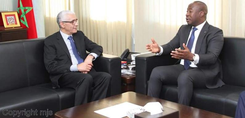 37ème édition du CONFEJES au Maroc : le président en exercice, Oswald Homéky à Marrakech