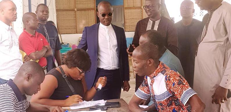 Recensement National des Artisans: Le Ministre Modeste Kérékou supervise lui-même ledéroulement