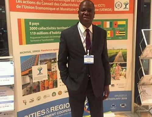 Bruxelles – Participation de Luc Atrokpo au Forum des cités et villes pour le développement durable