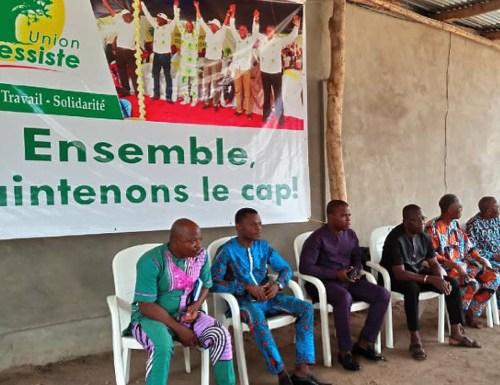 Mono – Union Progressiste : sensibilisation sur la Charte des partis politiques et le Code électoral