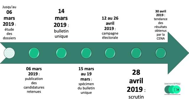 Calendrier Electoral 2019.Legislatives 2019 La Cena Publie Le Calendrier Electoral