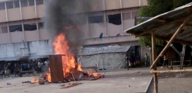 Maison d'arrêt d'Akpro-Missérété : Les prisonnier manifestent contre la gestion du régisseur Aboudou Seïdou