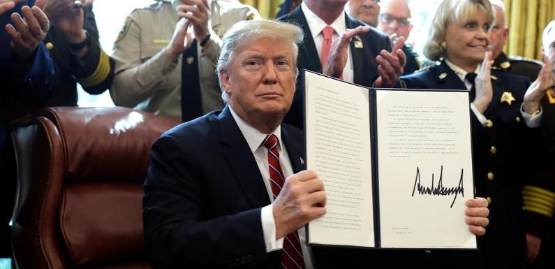 Immigration – Amérique du Sud : Donald Trump a signé sa menace sur le mur entre les États-Unis et le Mexique