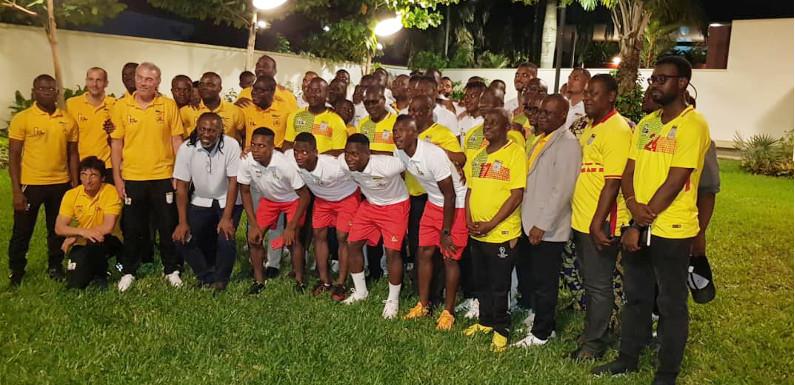 Qualification du Bénin à la CAN : le chef de l'État béninois, Patrice Talon félicite les Écureuils avec trois cent millions FCFA