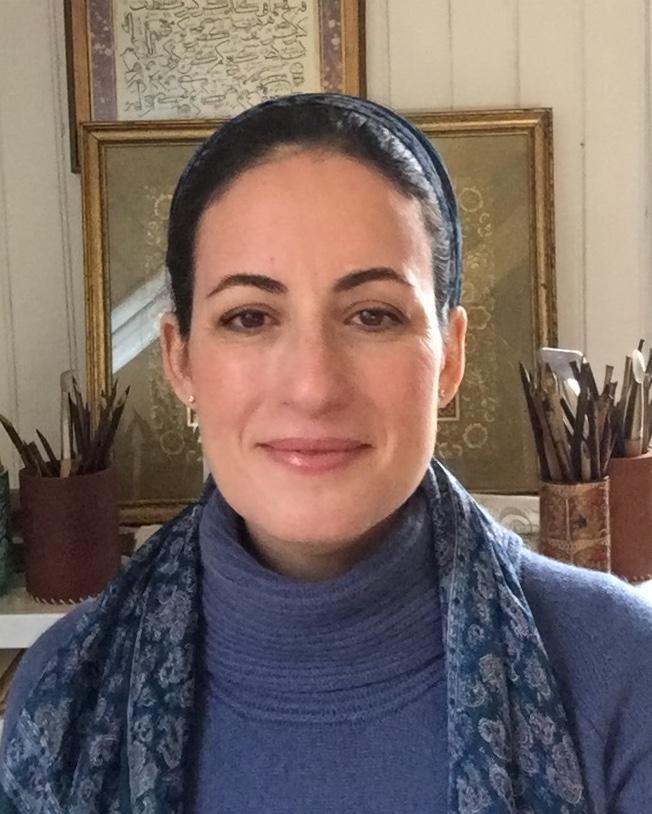 Nuria Garcia Masip arabic calligraphy artist