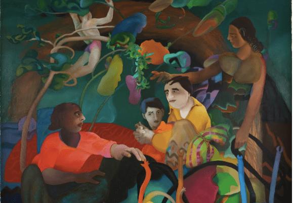 Indian art by R. Kaleka