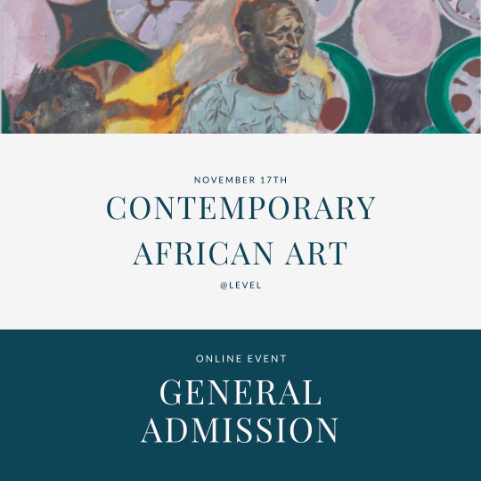Contemporary African art - general admission tickets