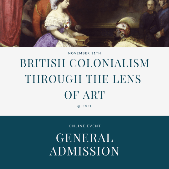 British colonialism through art - general admission tickets