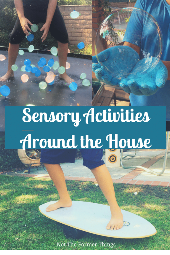 Sensory Activities Around The House #spd #sensoryprocessing #adhd #learningdifferences #occupationaltherapy