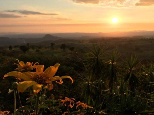 Coucher de soleil sur le Guanacaste