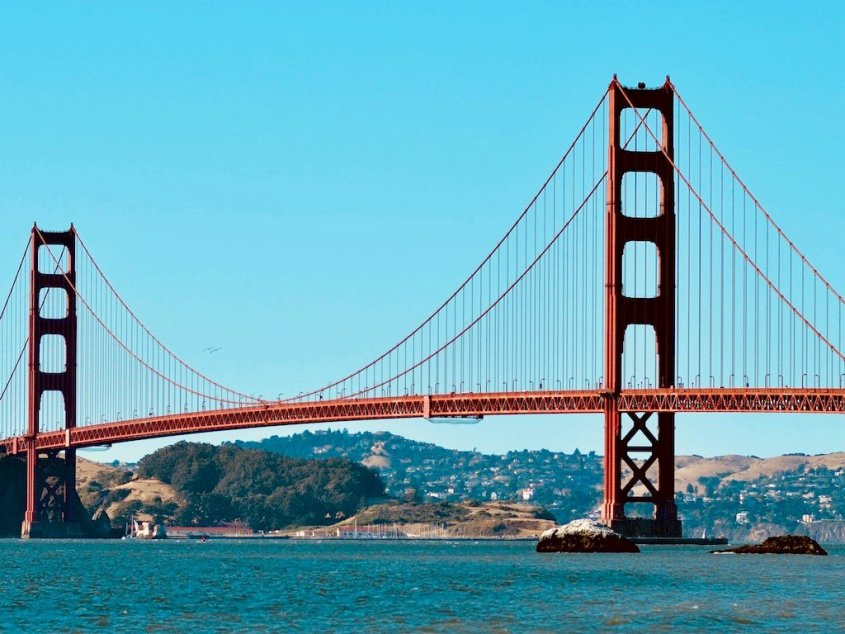 Le Golden Gate de San Fransisco