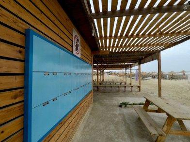 Centre de plongée d'Abu Dabbab vide avant le départ pour aller plonger à Elphinstone