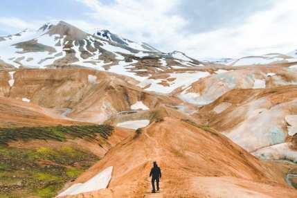 Le paysage emblématique du Kerlingarfjöl en Islande