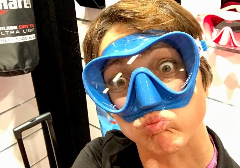 Choisir son masque de plongée : une question de look😍