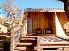 Une chambre de l'hôtel O'Lolo à Mayotte