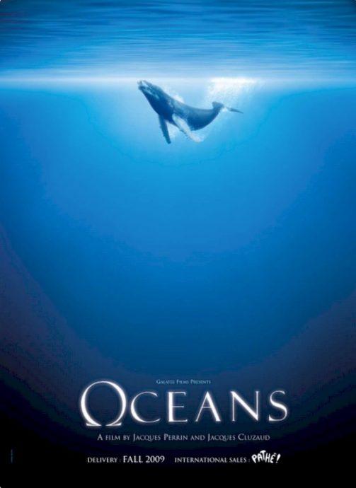 L'affiche du film Océans.