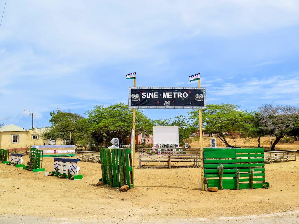 Le cinéma de plein air de Rincon à Bonaire