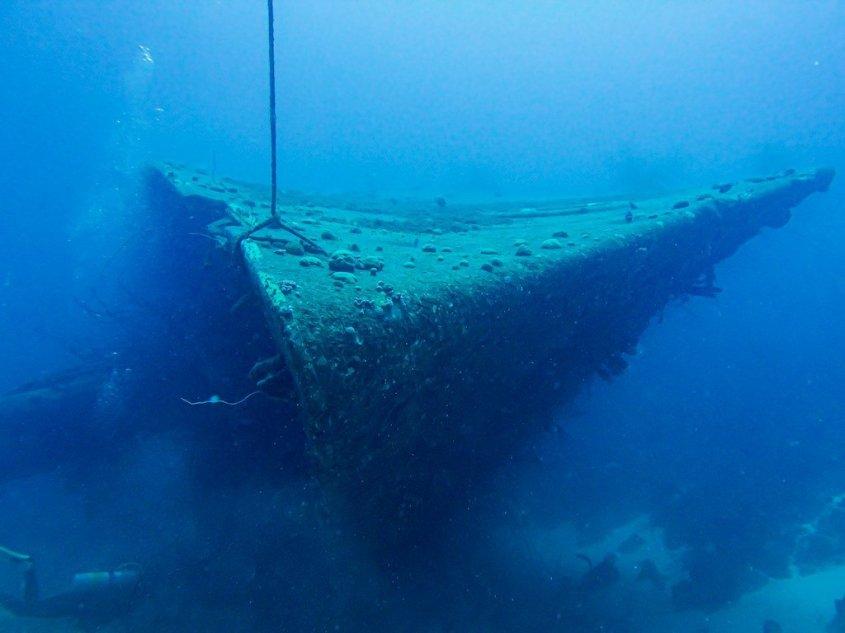 Plonger à Bonaire permet de découvrir la très belle épave du Hilma Hooker
