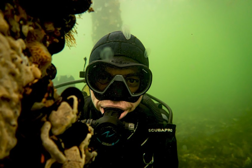 Plongée en Zélande à Den Osse : portrait de Geoffrey