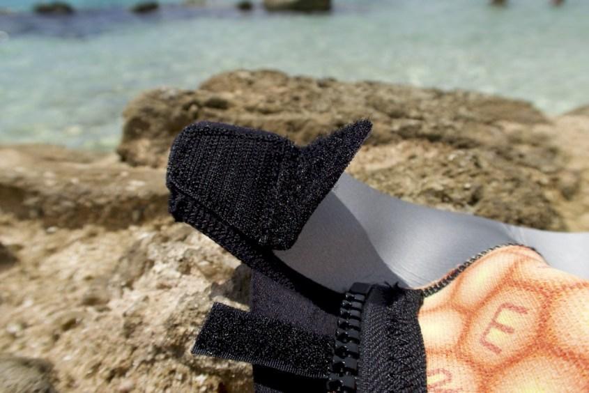 Protection du scratch pour éviter d'abimer le Néoprène