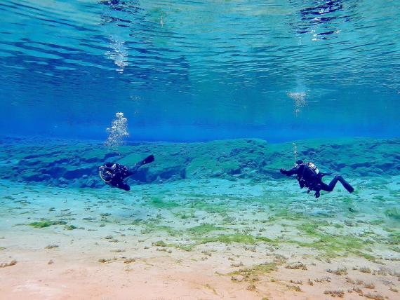 Les exercices simples en plongée doivent être réviser régulièrement.