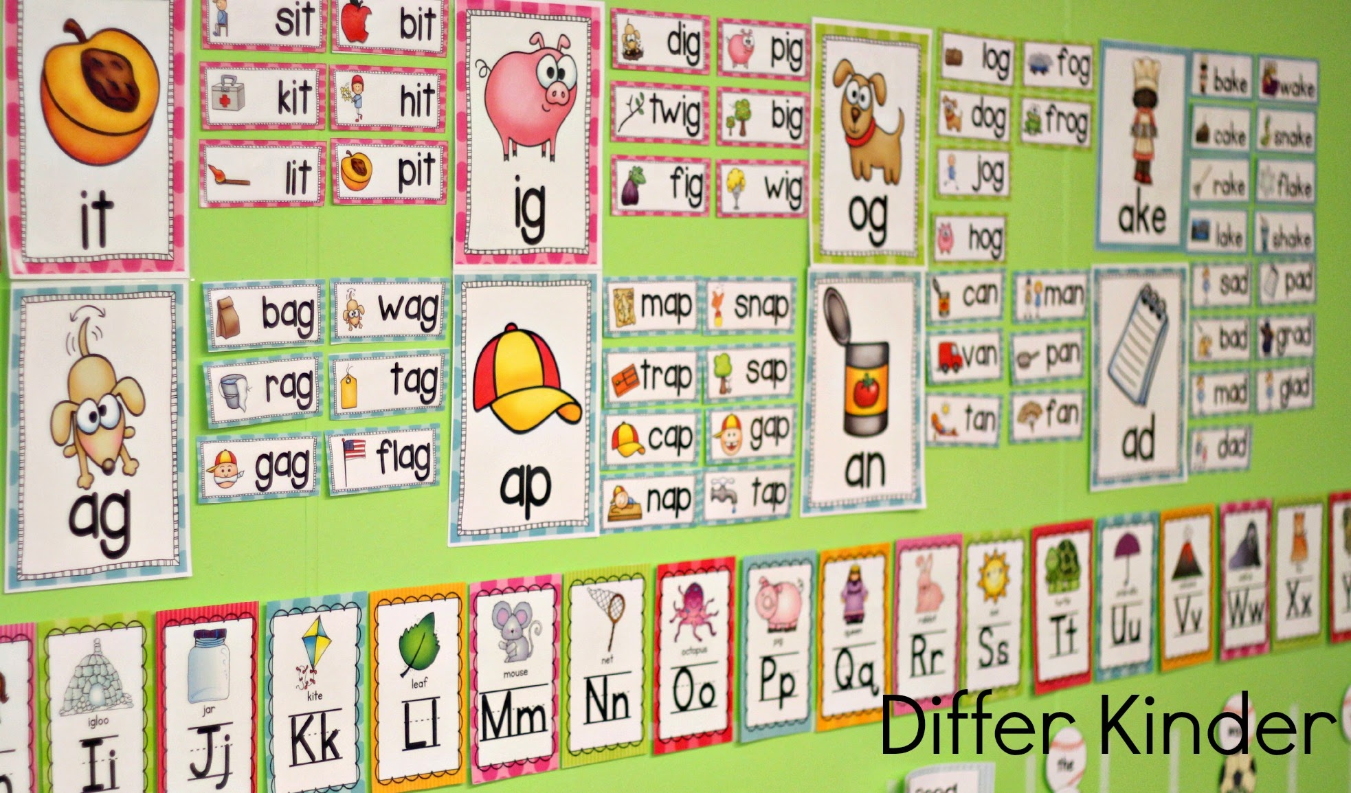 More Differentiated Word Family Word Work With Cvce Words