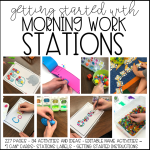 Marsha McGuire: Getting Started with Morning Work Stations