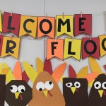 Thanksgiving Turkey Bulletin Board Banner Differentiated Kindergarten