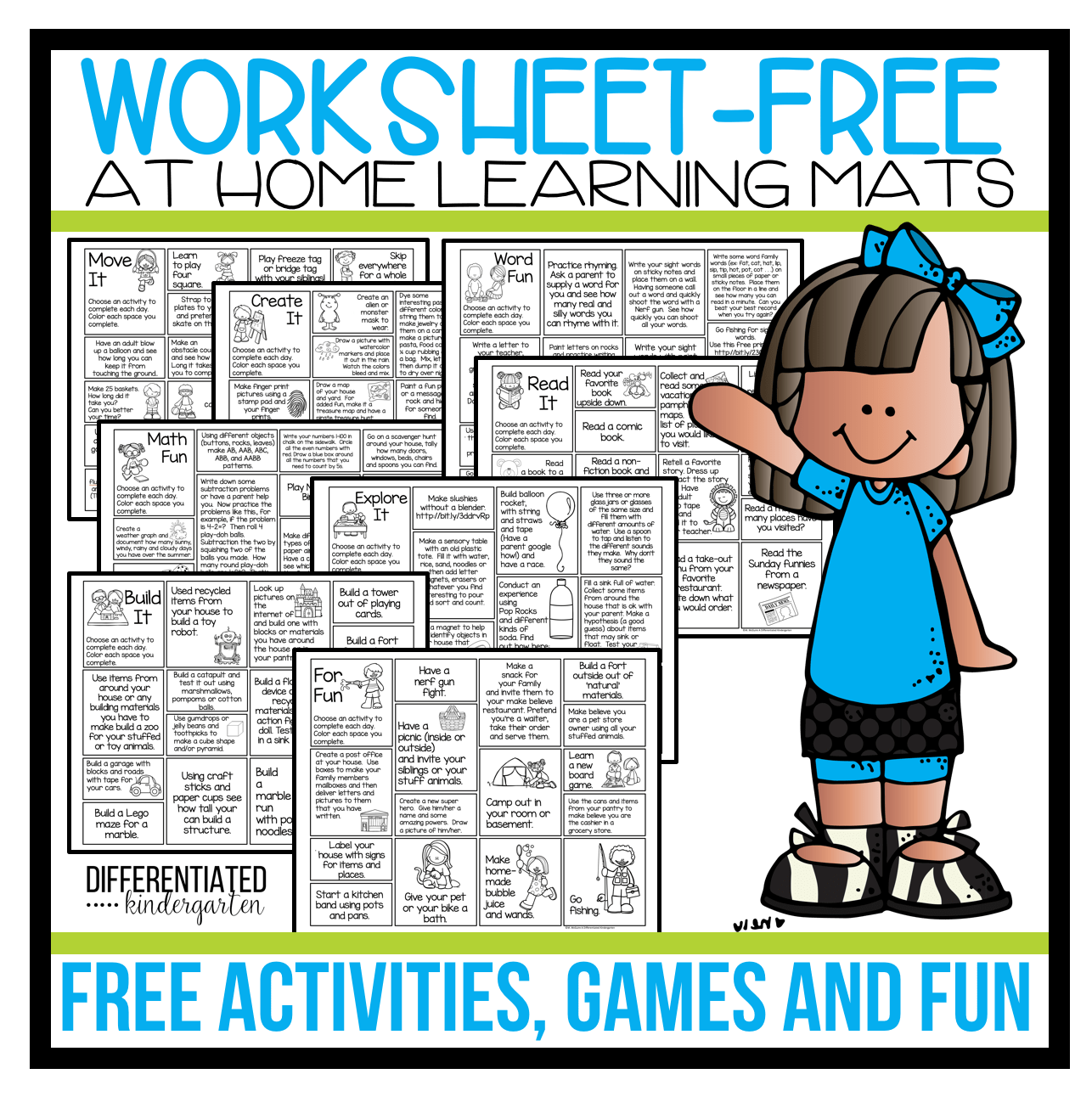 Free Worksheet Free At Home Learning Games Activities And