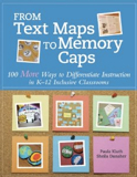 Book cover for Paula Kluth's From Text Maps to Memory Caps
