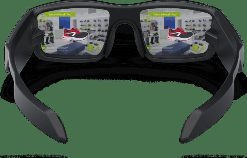 AR vuzix glasses