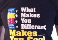 What makes you different, makes you cool.