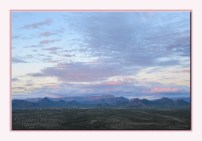 sunset Cave Creek AZ pink clouds