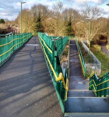 ice footbridge