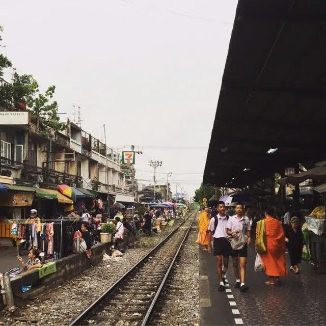 Wongwian Yai Station Bangkok - the start of your journey from Bangkok to Maeklong Railway Market