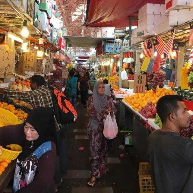 Chow Kit Market in Kuala Lumpur is a working wet market