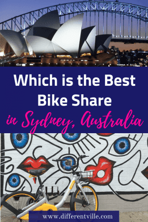 There are five bike share companies in Sydney right now - but which one costs the least per km, has the most bikes or takes the smallest deposit? This post gives you all the info if you want to cycle in Sydney. #sydney #sydneytransport #cyclinginsydney