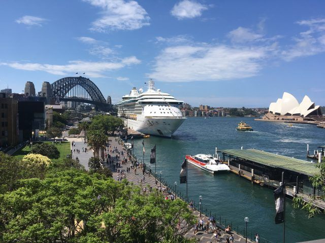 The Opera House and the Sydney Harbour Bridge are the two icons of Sydney. The Cahill Expressway is where you go to get the both in the same photo. It's one of our top things to do in Circular Quay