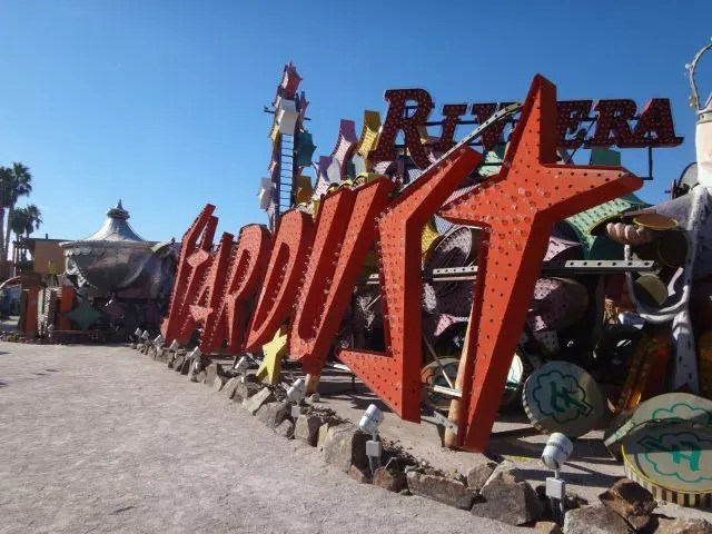 The Stardust sign at the Neon Museum is enormous - and you have to loiter at the back of your tour to get a pic of the whole thing, but I was determined.