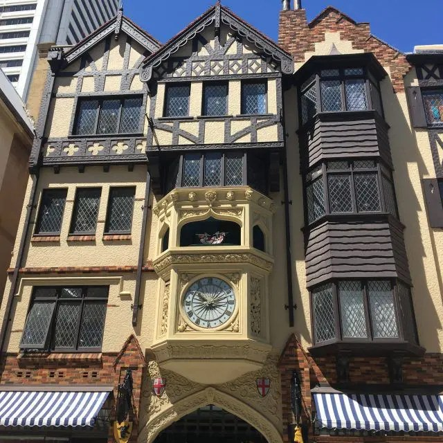 London Court in Perth is inspired by a famous building in London - it was one of the things we saw on our walking tour of Perth with Oh Hey WA