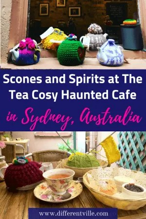 The Tea Cosy Cafe in Sydney's The Rocks doesn't just serve great scones, it also has a spooky secret (and it's not the only haunted place nearby). Check out our guide to spooky sights in Sydney's The Rocks. #sydney #therocks #spookysydney