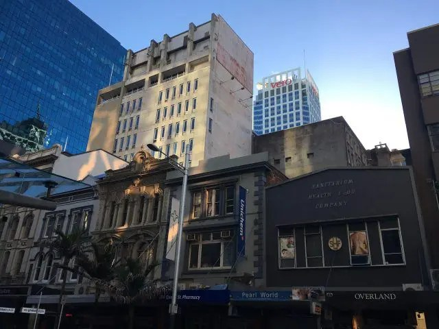 There are a lot of interesting buildings in Auckland's Queen Street - and some unusual stories behind them.