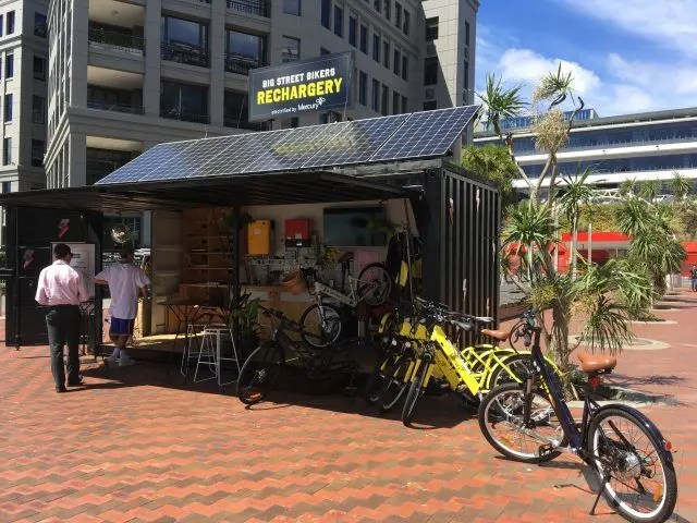 Electric Bikes are the new way to get around Auckland and definitely one of the more unusual things to do there.